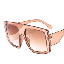 Load image into Gallery viewer, Classic Oversized Square Sunglasses for Women High Quality Vintage Fashion Glasses Male Eyewear pink Ladies Shades de sol