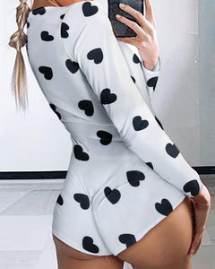2020 Women's Lady Sexy Romper Bodycon Casual Jumpsuit Romper Long Sleeve Shorts Leotard Home Wear Tracksuit Playsuit Pajama