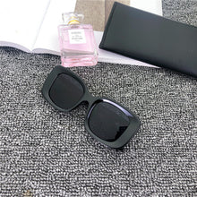 Load image into Gallery viewer, WHO CUTIE 2020 Vintage Blue Square Sunglasses Oversized Women Men Brand Design Thick Frame Retro Sun Glasses Shades Female S259