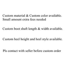 Load image into Gallery viewer, Sorbern Purple Patent Ankle Wedge Booties Women Platform Ankle High Boots Ladies Unisex Plus Size 15 Female Short Boots