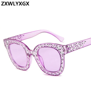 Fashion Sunglasses Women Luxury Brand Designer Driving  Sun Glasses  High Quality Hollow Shades Oculos