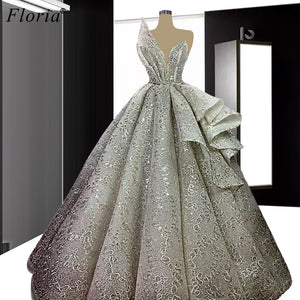 Special Gray Celebrity Dresses 2020 A-Line Strapless Formal Evening Dresses Women Party Night Robe Longue Wedding Party Dress