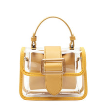 Load image into Gallery viewer, STIVEN JAMES PVC Clear Shoulder Bags for Women High Quality Chain Crossbody Handbag Mini Transparent Flap Bag Jelly Ladies Purse