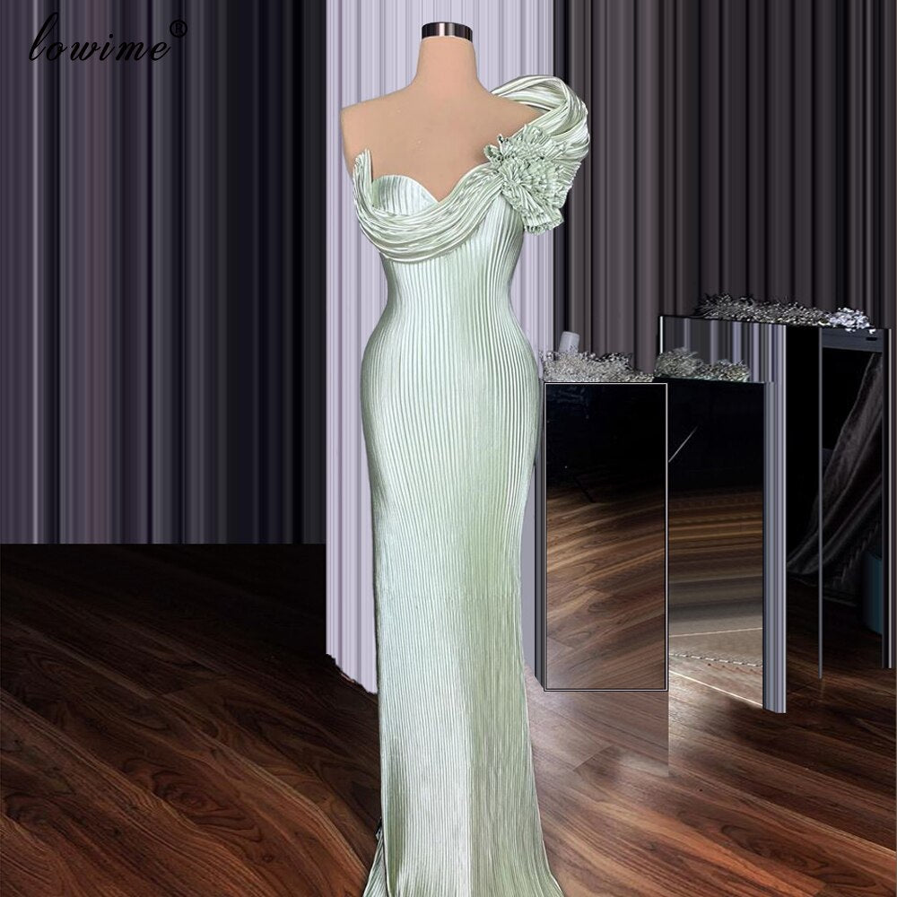 2 Designs Light Green Celebrity Dresses 2020 Long Formal Red Carpet Runaway Dresses Women Evening Gowns Sukienki Wizytowe