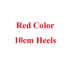 2018 Red Bridal High Heel Flower Lace Wedding Shoes Prom Shoe Bridesmaid Evening Party Spike Red Pumps Celebrity Stiletto Heels