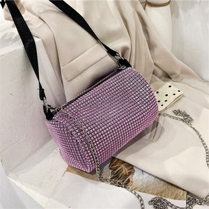 Diamond Women Purse Fashion Bags For Women 2020 Purses And Handbags Luxury Designer High Quality Chain Bag Crossbody Party Bag
