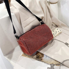 Load image into Gallery viewer, Diamond Women Purse Fashion Bags For Women 2020 Purses And Handbags Luxury Designer High Quality Chain Bag Crossbody Party Bag