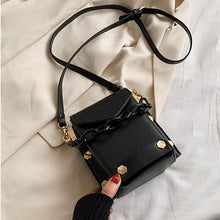 Load image into Gallery viewer, Phone Purses Summer Crossbody Bags For Women 2020 Trend High Quality Leather Luxury Designer Rivet Shoulder Bag Ladies Handbags