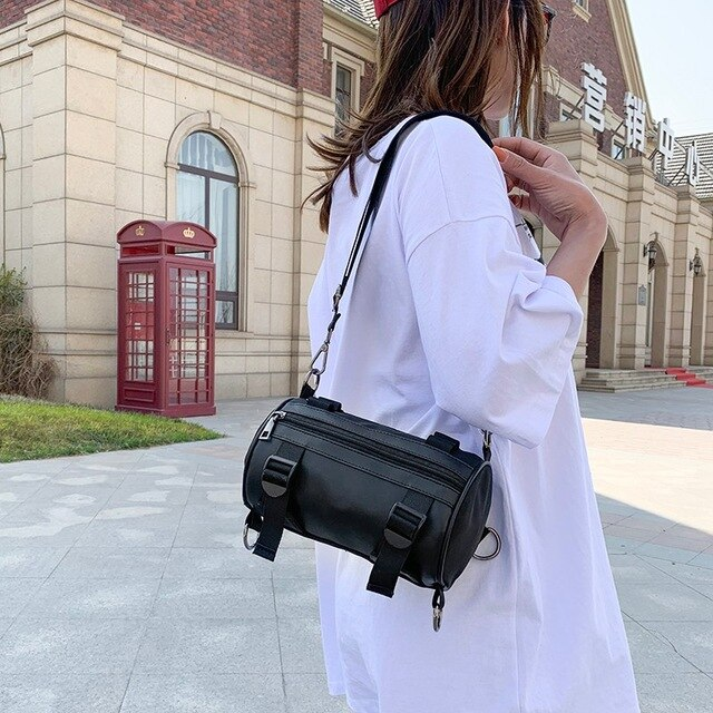 Nylon Women Shoulder Bag Luxury Handbags Women Bags Designer Purses And Handbags Crossbody Bags High Quality Saddle Bag Zipper