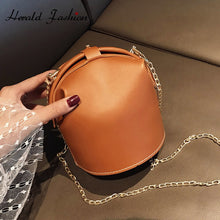 Load image into Gallery viewer, New Fashion Bucket Bags Women High Quality Cross body Bags Capacity Casual Female Leature Shoulder Messenger Bags Ladies Purse