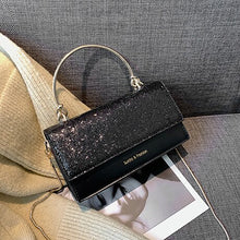 Load image into Gallery viewer, Small Bag Women Shoulder Luxury Handbags Womens Bags Designer Fashion High Quality Black Sequins Tote Purse Summer Casual Travel