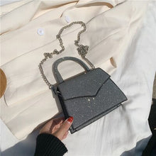 Load image into Gallery viewer, Sequins Women Crossbody bag 2020 Fashion New High-quality PU Leather Designer Handbag Purse Simple Style Shoulder Messenger Bag