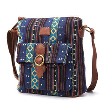 Load image into Gallery viewer, Annmouler Small Size Women Handbag Vintage Shoulder Bag High Quality Crossbody Bag Fabric Messenger Bag for Women Pockets Purse
