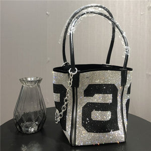 2020 New Famous Designer Diamond Bucket Bags Summer High Quality Shoulder Messenger Bags Fashion Casual Women Purse and Handbags
