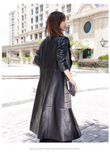 Load image into Gallery viewer, Trench Coat Real Genuine Leather Jacket Women's Fur Spring Coat Women Clothes 2020 Korean Female Jacket Sheepskin Coat ZT2187