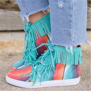 2020 New Women shoes Spring and Autumn High top Canvas Shoes comfortable martin boots botas zapatos mujer for ladies and girls