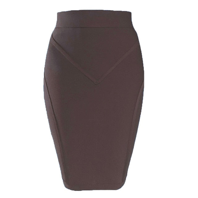 New Arrival Bandage Skirts 2020 Summer Women Skirt Pencil Bodycon Sexy Office Skirts Ladies Clothes