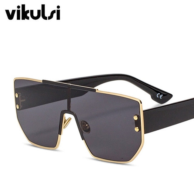 Unisex Celebrity Fashion Sunglasses Women 2019 High Quality France Brand Designer Luxury Sun Glasses Black Square Sunglass Women