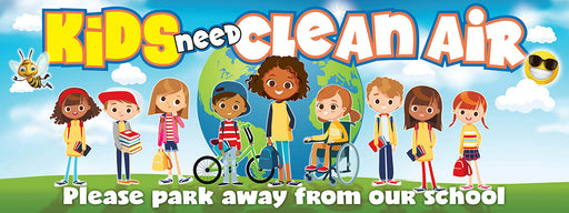 Kids Need Clean Air Banners