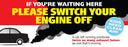 Switch your Engine Off banner
