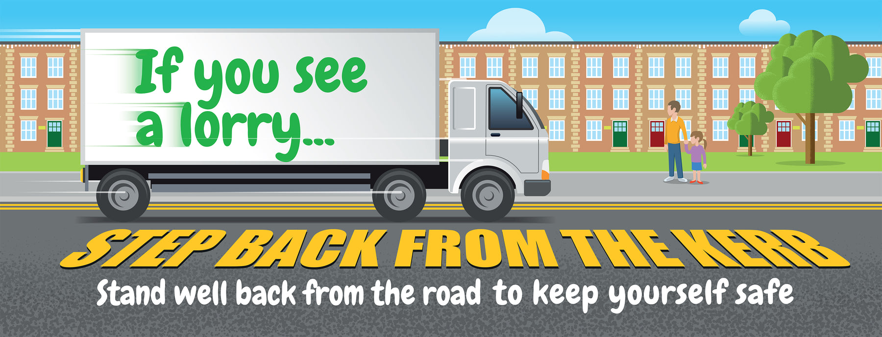 If you see a lorry banner