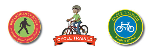 Cycling and Pedestrian Training badges