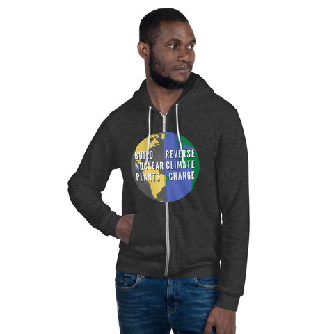 Build Nuclear Plants / Reverse Climate Change Hoodie sweater