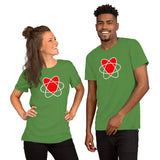 I Love Nuclear Short-Sleeve Unisex T-Shirt