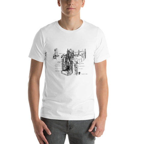 EBR-II - Experimental Breeder Reactor - Short-Sleeve Unisex T-Shirt