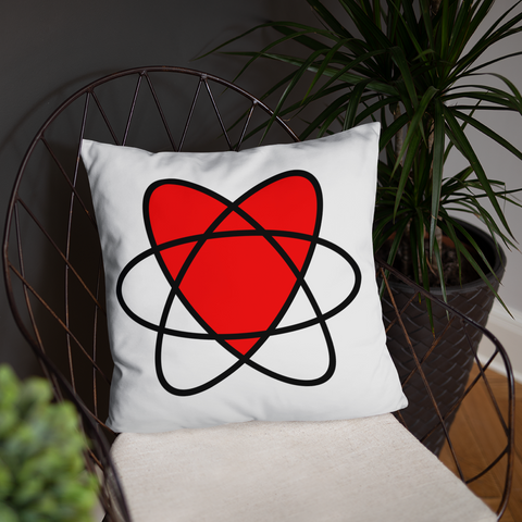 I Love Nuclear Pillow