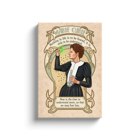 Marie Curie - Canvas Wraps