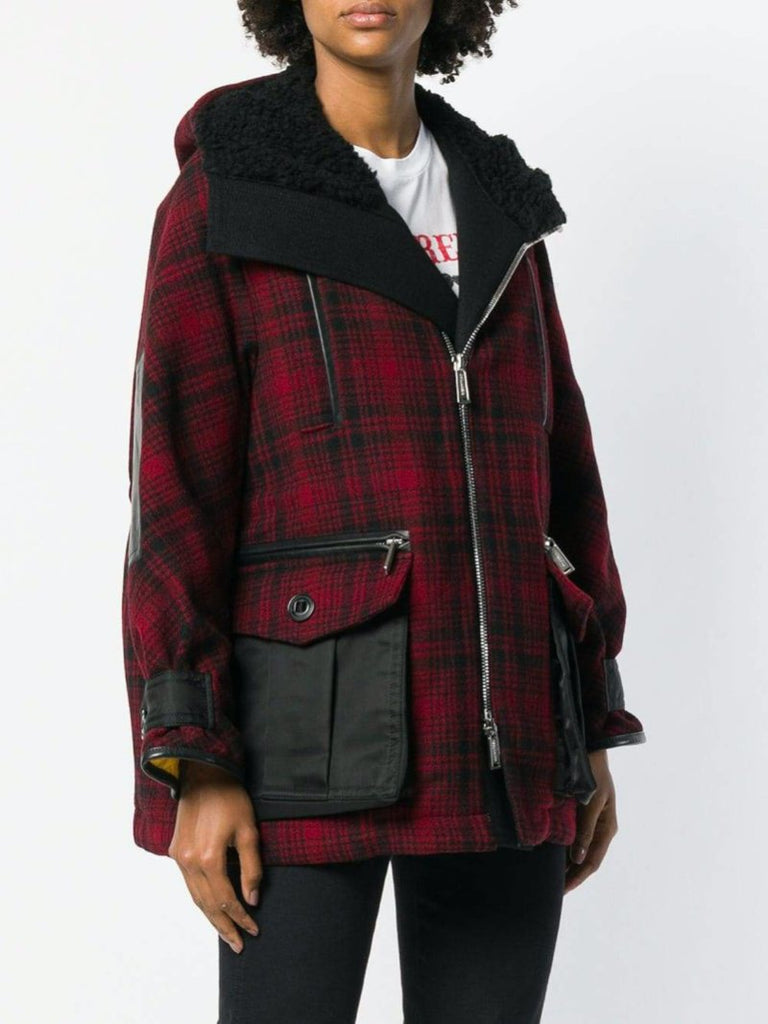 Dsquared2 Hooded Oversized Parka Coat - Season Seven NYC