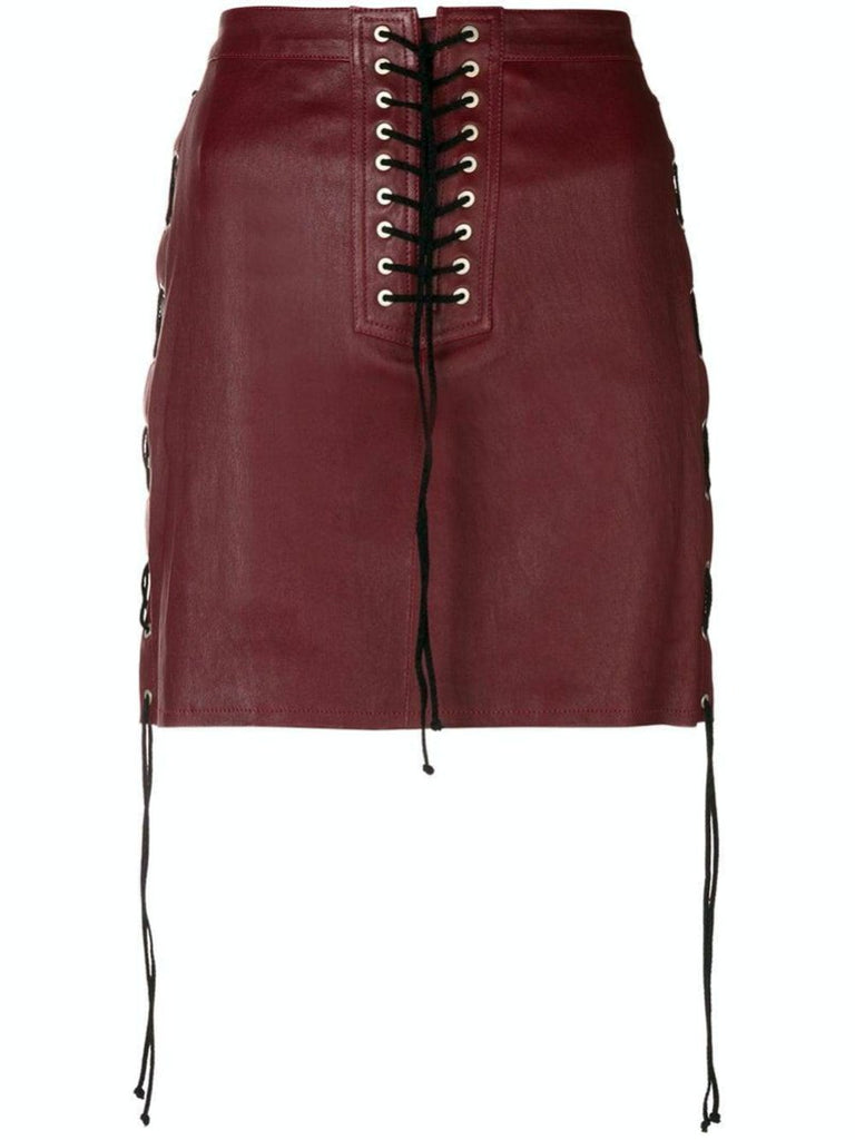 Lace-Up Detail Skirt - Season Seven NYC