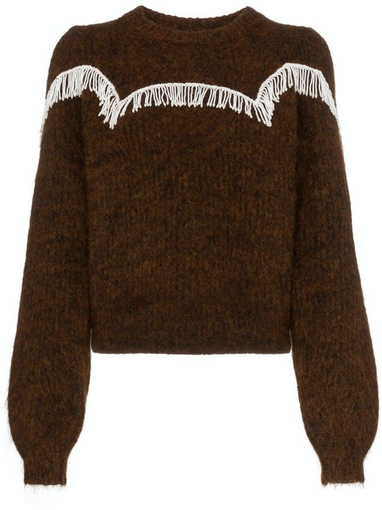 Aberdeen Beaded Fringing Detail Jumper - Season Seven NYC