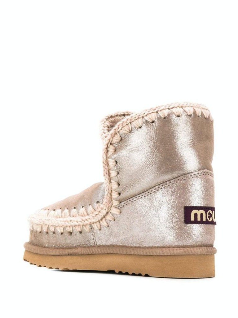 Metallic Eskimo Boots - Season Seven NYC