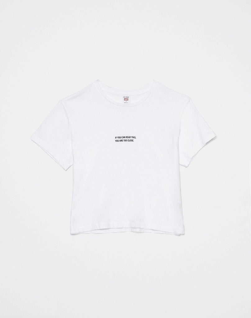"Boxy ""Too Close"" Tee - Season Seven NYC"