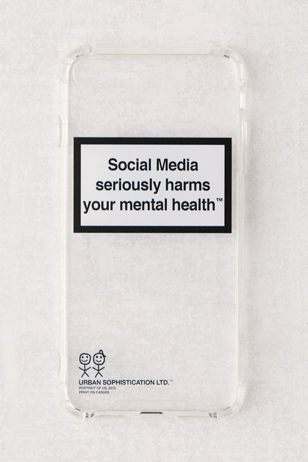 MENTAL HEALTH WARNING IPHONE CASE - Season Seven NYC