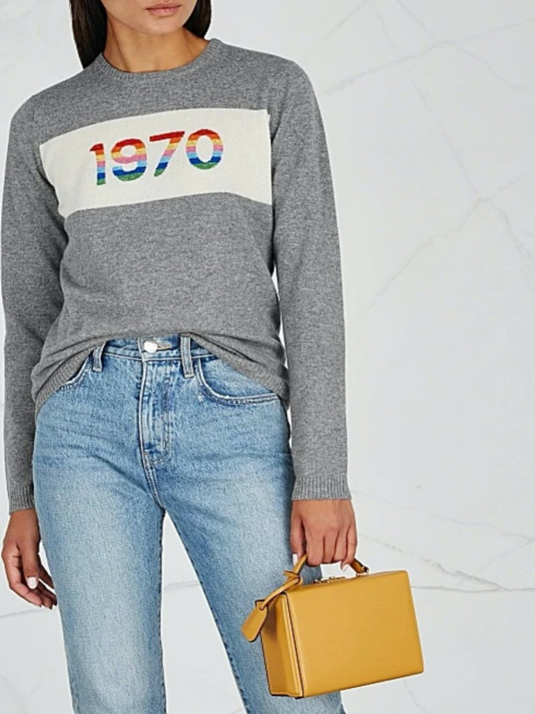 1970 Rainbow Cashmere Jumper - Season Seven NYC
