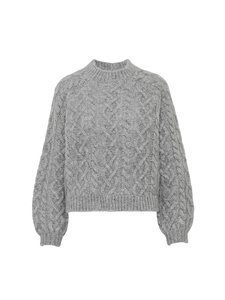 AIME SWEATER - GREY - Season Seven NYC