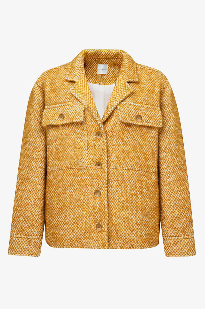 LEON JACKET IN GOLD