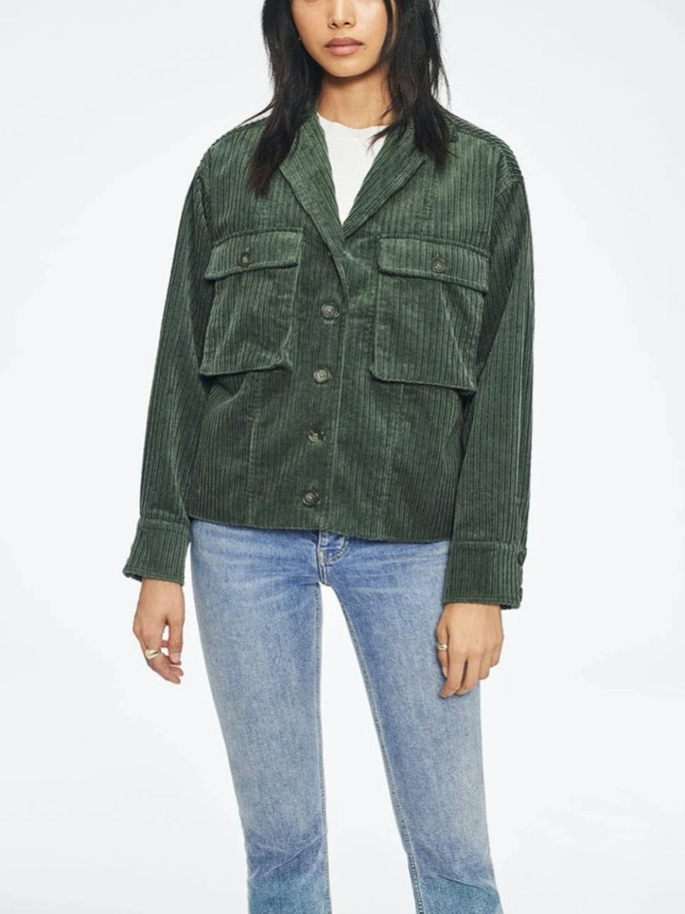 Anine Bing Sam Jacket Green (Only One Left)