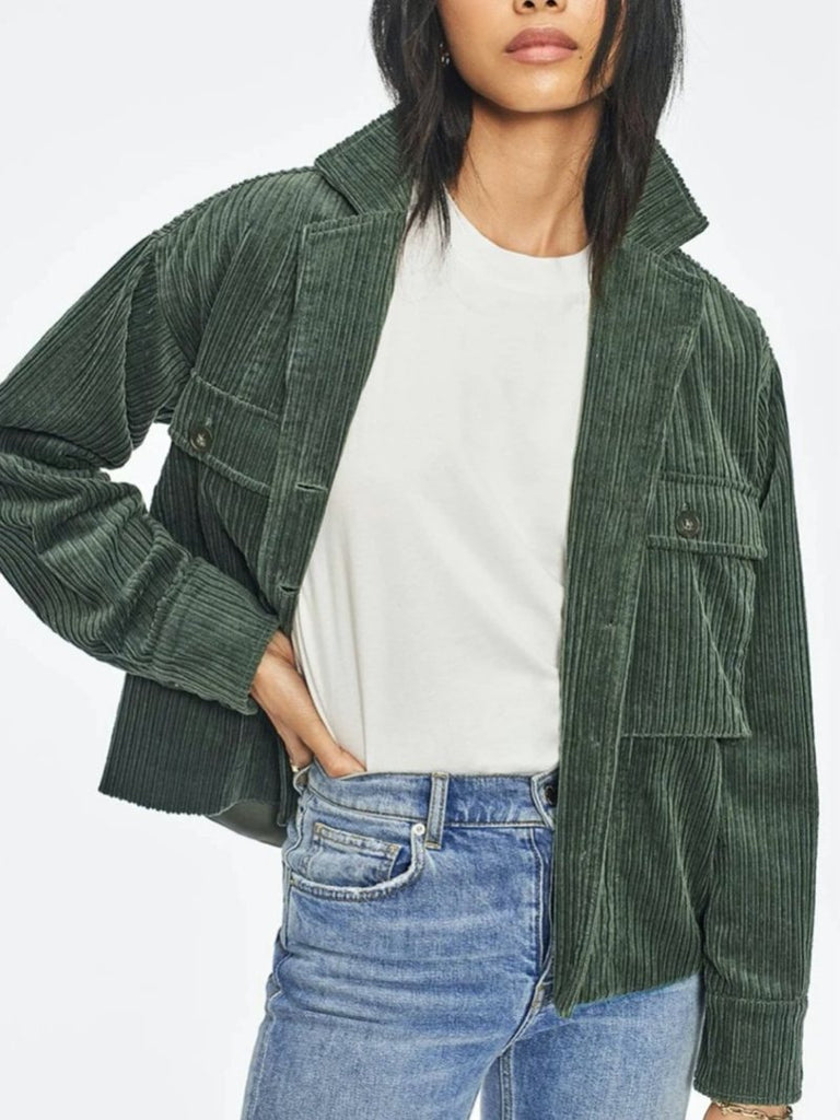 Sam Jacket Green - Season Seven NYC
