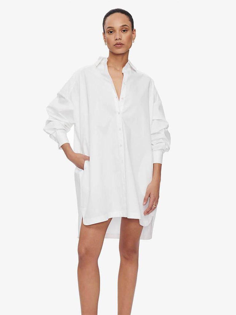 AUBREY DRESS - WHITE - Season Seven NYC