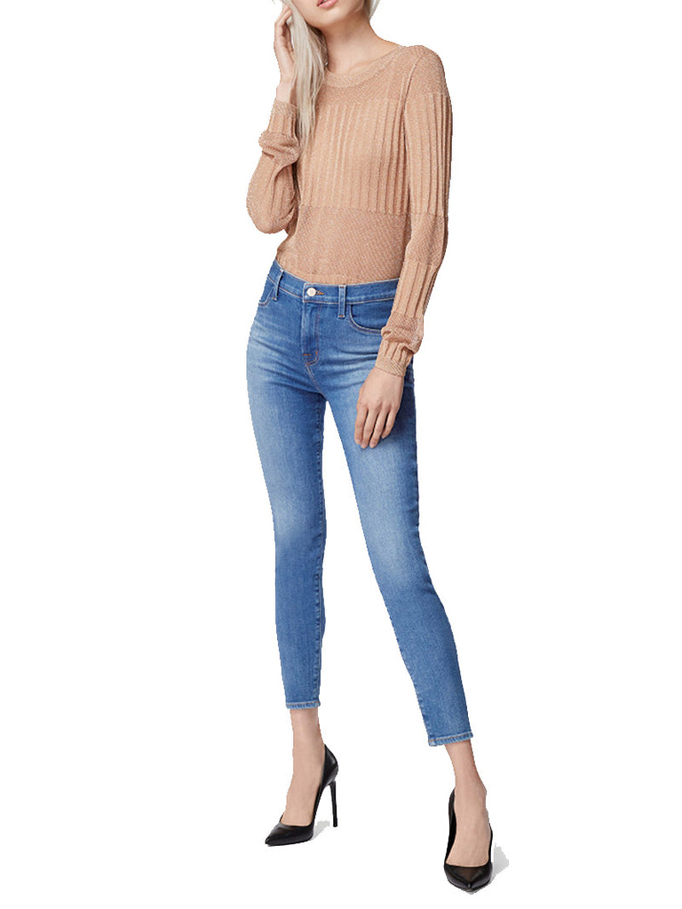 Alana High-Rise Cropped Super Skinny In Radiate - Season Seven NYC