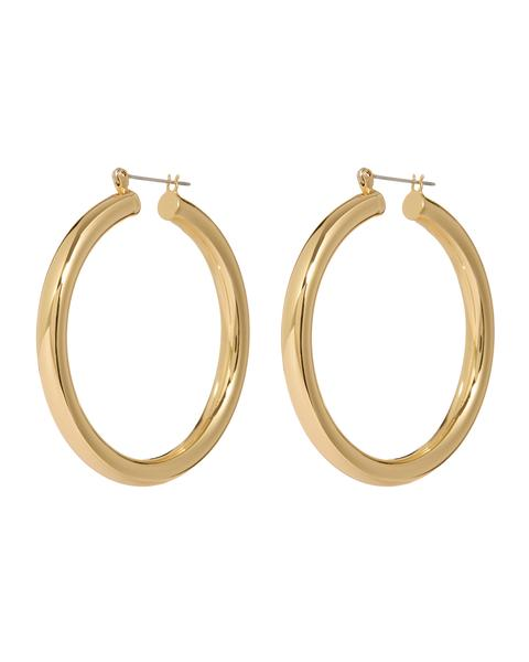 AMALFI TUBE HOOPS- GOLD - Season Seven NYC