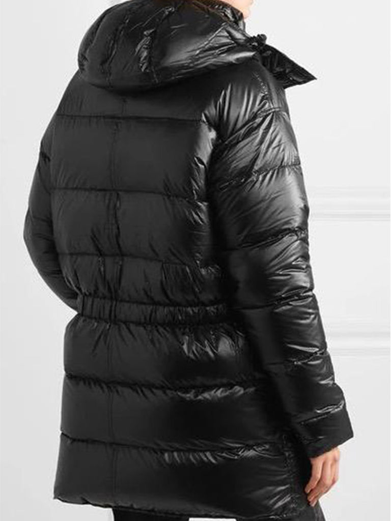 BRUMAL X R13 HOODED QUILTED SHELL DOWN PARKA - Season Seven NYC