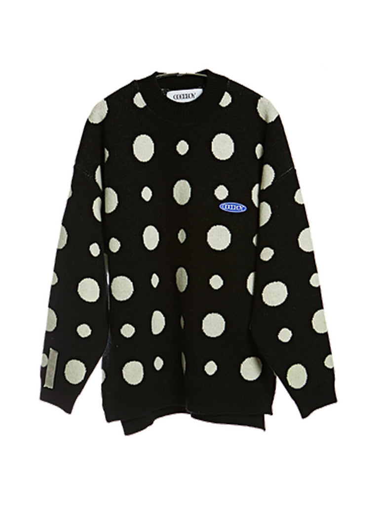 Big Logo Dots Sweater [ship immediately!]