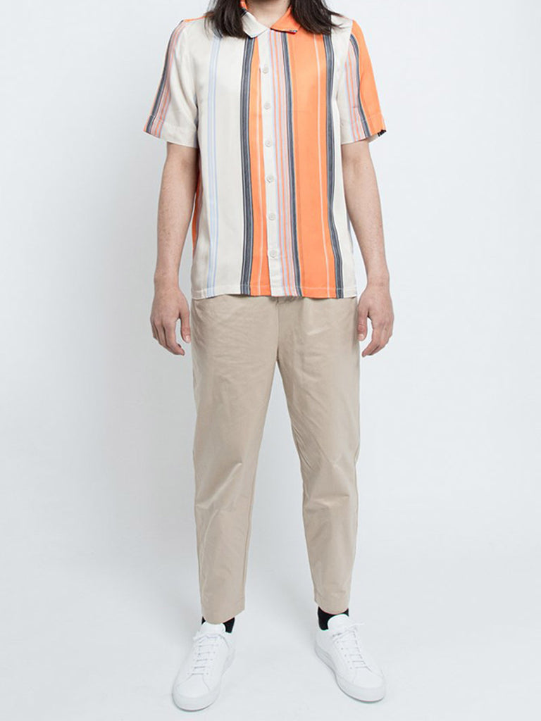 Bo Orange Stripe Shirt - Season Seven NYC
