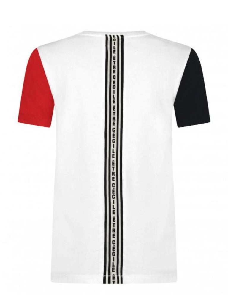 Stripe Block T-Shirt - Season Seven NYC