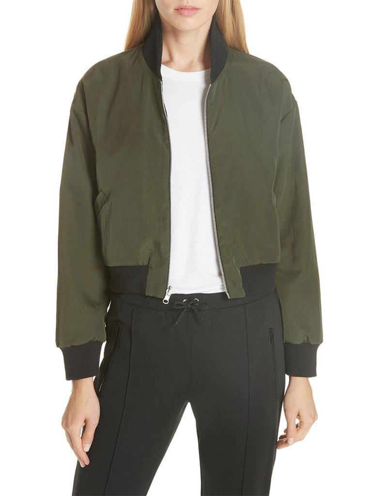 Crop Reversible Bomber Jacket - Season Seven NYC